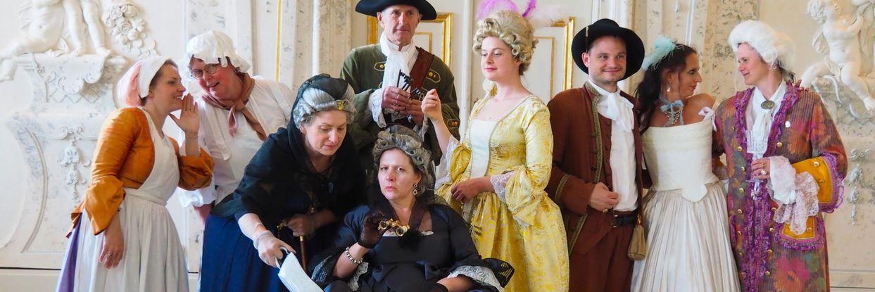 Veranstaltung auf Schloss Hof - Durchlaucht bitten zu Tisch