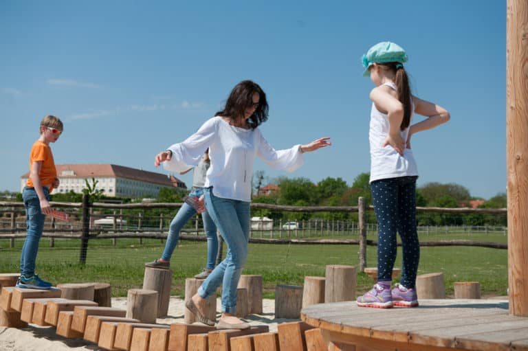 Kindergeburtstag auf Schloss Hof - Erlebnispfad