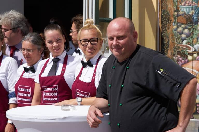 """Restaurant auf Schloss Hof - """"Zum weissen Pfau"""""""