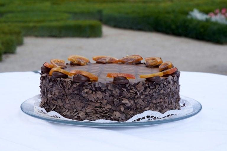 Schlosshof Gastronomie Torte Prinz Eugen