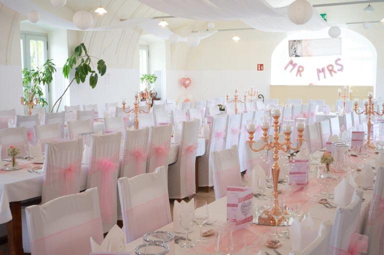 """Hochzeitstafel Restaurant """"zum weissen Pfau"""""""